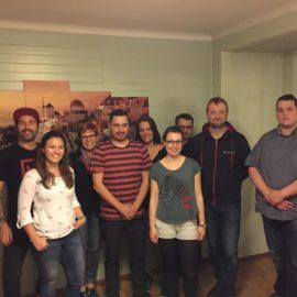 7 Neuaufnahmen, 3 Ehrenrolis und neue Vorstandschaft – GV 2017